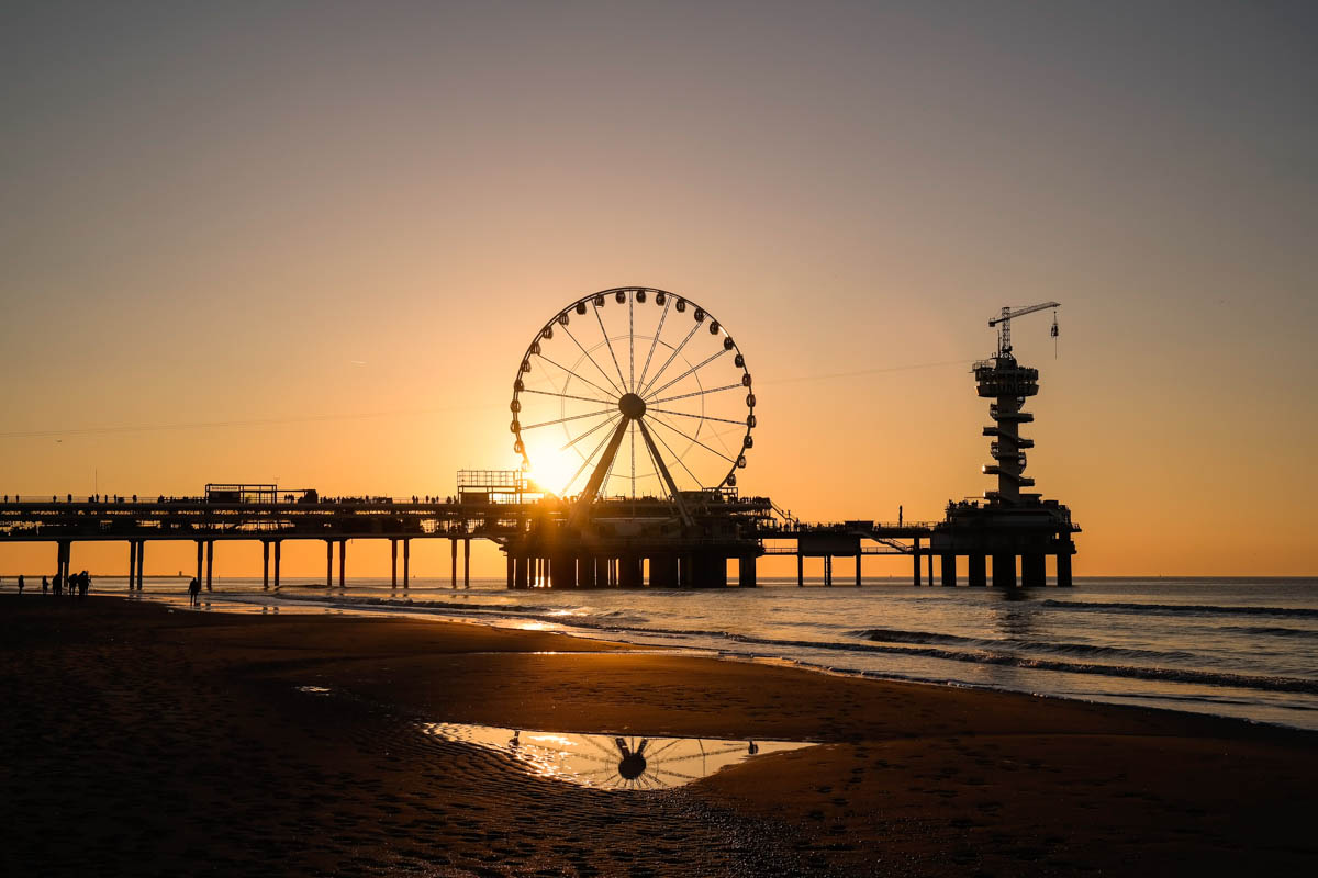 Scheveningen - sunset